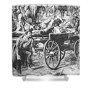 Germany: Seven Weeks War Shower Curtain