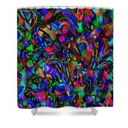 Get Busy Shower Curtain