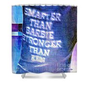 Get Off Our Backs Shower Curtain