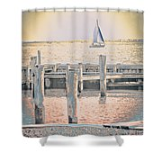 Get The Coffee Ready Shower Curtain