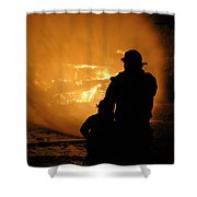 Getting The Job Done Shower Curtain