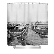 Gettysburg Battlefield - Vintage C 1870 Shower Curtain
