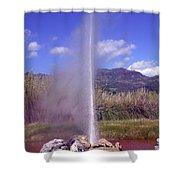 Geyser Calistoga Shower Curtain