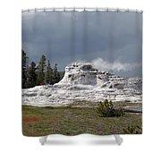Geyser In Yellowstone Shower Curtain