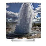 Geysir 3 Shower Curtain