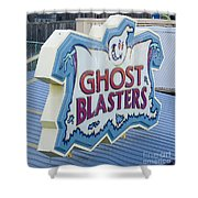 Ghost Blasters Shower Curtain
