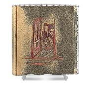Ghost Stories Farmhouse Shower Curtain