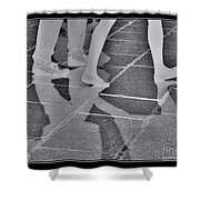 Ghost Walkers Shower Curtain