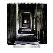 Ghostly Passage Shower Curtain