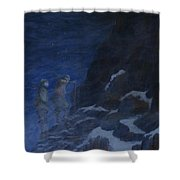Ghosts Of Everest Shower Curtain
