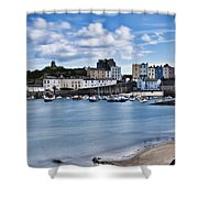 Ghosts On The Beach Shower Curtain