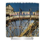 Giant Fun Fair Shower Curtain