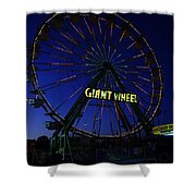 Giant Wheel  Shower Curtain