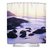 Giants Causeway, Co Antrim, Ireland Shower Curtain