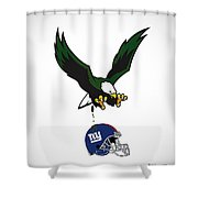 Giants Suck Shower Curtain