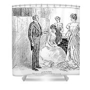 Gibson: Advice To Bores Shower Curtain