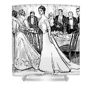 Gibson: After-dinner, 1899 Shower Curtain
