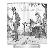 Gibson: Businessman, 1903 Shower Curtain