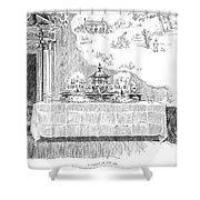 Gibson: Castle In The Air Shower Curtain