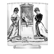 Gibson: Confessions, 1894 Shower Curtain