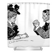 Gibson: Couple, 1896 Shower Curtain