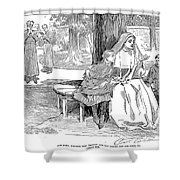 Gibson: Friends, 1901 Shower Curtain