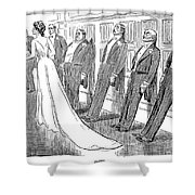 Gibson: Frozen, 1902 Shower Curtain