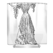 Gibson: Gibson Girl, 1903 Shower Curtain