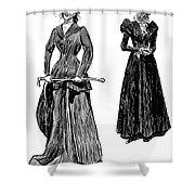 Gibson: Grandmother, 1897 Shower Curtain