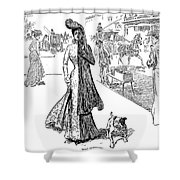 Gibson: Half Mourning Shower Curtain