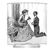 Gibson: Last Remembrance Shower Curtain