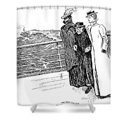 Gibson: The First Day Out Shower Curtain