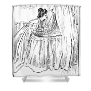 Gibson: The Mother, 1899 Shower Curtain