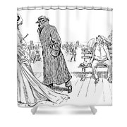 Gibson: The Weaker Sex Vi Shower Curtain