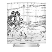 Turning Tide, 1901 Shower Curtain