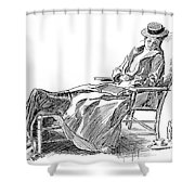 Gibson: Woman, 1898 Shower Curtain