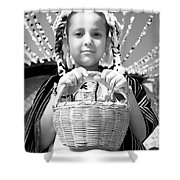 Gift For The Virgin Of Guadalupe Shower Curtain