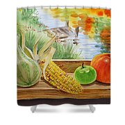 Gifts From Fall Shower Curtain