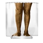 Gigantism Shower Curtain by Omikron