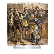 Giles Corey, 1692 Shower Curtain by Granger
