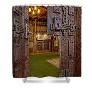 Gillette Castle's Bar Shower Curtain