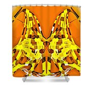 Giraffe-dragons Shower Curtain