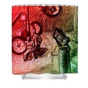 Giro D'italia 1 Shower Curtain