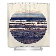 Gitche Gumee Shower Curtain