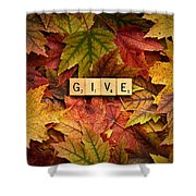 Give-autumn Shower Curtain