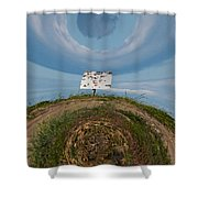 Give Me A Sign Shower Curtain