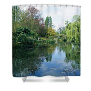 Giverny Gardens, Normandy Region Shower Curtain