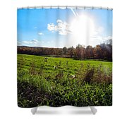 Giving Life Shower Curtain