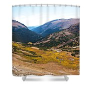 Glacier Cirque - Rocky Mountain National Park Shower Curtain