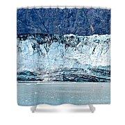 Glacier Face Shower Curtain